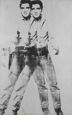 Andy Wahrol -double Elvis