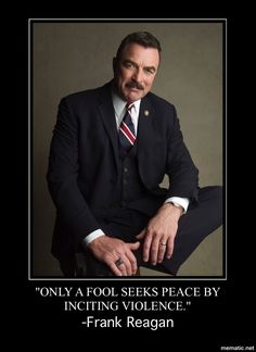 "Tom Selleck as Police Commissioner Frank Reagan from the Television series ""Blue Bloods"" Robert Redford, Tom Selleck Blue Bloods, Blue Bloods Tv Show, Jesse Stone, Star Wars, Thing 1, Raining Men, My Guy, Best Tv"
