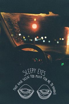 Real Friends and their sleepy eyes <3