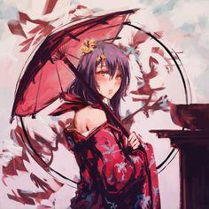 Samurai, Tokyo Ravens, Art Girl, Knight, Anime Art, Kawaii, Fantasy, Anime Girls, Beautiful Images