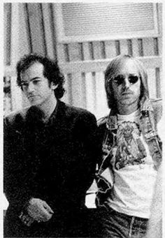 Tom Petty and Benmont Tench