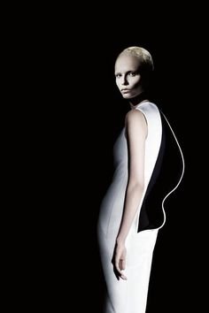 Natasha Poly photographed by Willy Vanderperre for the Jil Sander F/W 2009/10 advertising campaign.