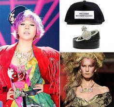 Riêng Sunny, cô nàng diện một thiết kế trong bộ sưu tập RTW mùa Xuân/Hè 2013, thuộc dòng Red Label trẻ trung và độc đáo. Ngoài ra, Sunny còn đội mũ snapback của VAGX Madhatter, thắt lưng của Vivienne Westwood với giá gần 9 triệu đồng và vòng cổ thuộc BST Red Label cùng hãng.
