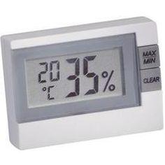 Digitální teploměr s vlhkoměrem TFA 30.5005, -10 - 60 °C, bílá