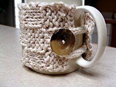 Twisted Fibers Designs: Free Mug Cozy Pattern