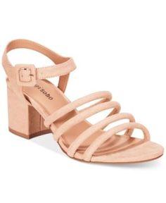 Blue Women's Sandals and Flip Flops - Macy's Strappy Sandals, Gladiator Sandals, Women's Shoes Sandals, Block Sandals, Block Heels, Soho, Lace Up, Slip On, Pumps