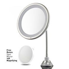 bathroom magnifying mirror 10x lighted magnified makeup 10X Magnifying Mirrors for Bathrooms Large 10X Magnifying Mirror