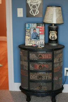 route 66 room | Route 66 {Boy's Room} | The Good Stuff Guide