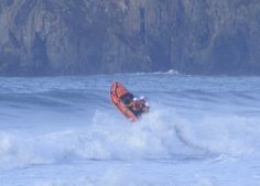 St Davids ILB Lifeboat, Newgale beach rescue Us Coast Guard, Search And Rescue, Boats, Weather, Places, Image, Ships, Weather Crafts, Boat