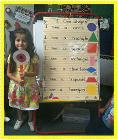 "Little Miss Kindergarten - Lessons from the Little Red Schoolhouse! Teacher's ""eye"" pointer. Make smaller versions with large googlie eye in the center."