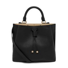 Mulberry New Arrivals - Small Kensington in Black Small Classic Grain