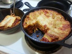 Picture of Easy Dutch Oven Lasagna