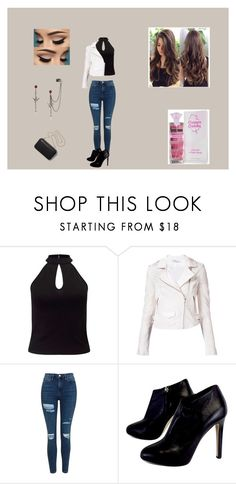 """""""Fast"""" by chelseagon on Polyvore featuring Miss Selfridge, IRO, Topshop, Giuseppe Zanotti and Clare V."""
