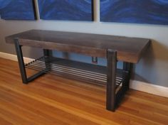 Hey, I found this really awesome Etsy listing at https://www.etsy.com/listing/119730091/industrial-wood-and-steel-bench
