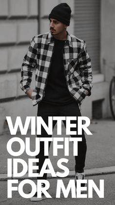 Winter Outfit Ideas for Men Mens Fashion Blog, Men's Fashion, Fashion Tips, Mens Style Guide, Men's Style, Style Guides, Winter Outfits, Winter Fashion, Outfit Ideas