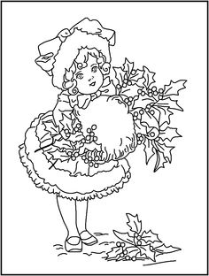 FREE Printable Christmas Coloring Pages - Holidays at Kid Scraps