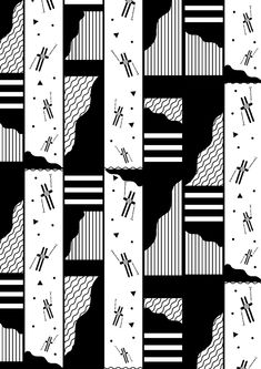 """Hot Snow Patrol - FW14/15 on Behance by Marta Veludo. Pattern Design inspired by the winter sports lifestyle from the 80s """"Hot Snow Patrol""""  RTW Collection for Krizia Robustella FW 14-15."""