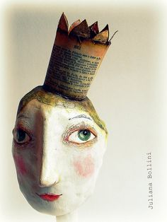 Juliana Bollini. You know how to make busts. this looks like something you could do. And I would love it!
