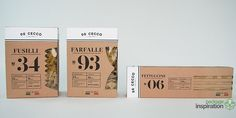 Packaging and rebranding for De Cecco pasta. My goal was to give the packaging a traditional, rustic Italian, vintage look yet combine this with modern cutouts representing