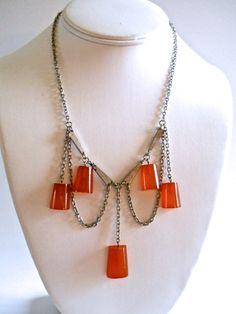 77f58b6b7c4c Bakelite Art Deco Necklace