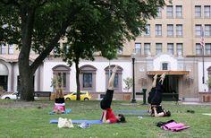 San Antonio Fitness in the Park