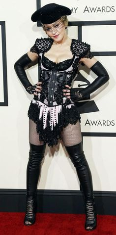 Grammys 2015 Red Carpet Arrivals - Madonna from #InStyle