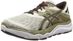 ee82e2c5163 ASICS Men s Running Shoe Cushioned running shoe for neutral runners  featuring minimal drop and no-sew overlays with glossy logo at sides Unisex  design ...