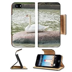 MSD Premium Apple iPhone 5 iphone 5S Flip Pu Leather Wallet Case Goose is a large bird in the family Anatidae family as well as ducks swans geese and iPhone5 IMAGE 33960319 *** Learn more by visiting the image link.