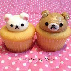"""Rilakkuma and korirakkuma❤  #rilakkuma#korilakkuma#cute#cupcakes #cupcake #baking @cupcakeposts_daily  #cake #waltdisney1901 #cupcakeposts #cupcakeholic…"""