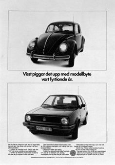 Read more: https://www.luerzersarchive.com/en/magazine/print-detail/vw-volkswagen-16201.html VW Volkswagen Sure it´s a thrill to change models every 40 years. Tags: VW Volkswagen,Hans Brindfors AB, Stockholm,Ola Mork,Lars Avid Boisen,Arne Nilsson,Mats Nyberg