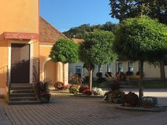 Sarah J. Loecker : Loipersdorf- Urlaub (almost) daheim Depth Perception, Small Fountains, Living In Europe, Rural Area, Small Farm, Ornamental Grasses, Carpet Colors, Hot Springs, Vacation