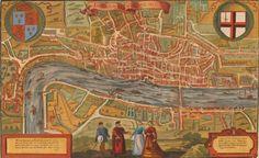 Londra, 1598, Sebastian Münster