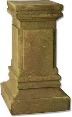 Dolphin Outdoor Garden Pedestal Available at AllSculpturescom