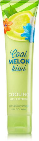 Cool Melon Kiwi Cooling Gel Lotion - Signature Collection - Bath & Body Works