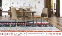 ¿qué te parecen estas sillas denominadas Aida plus de Calligaris para tu salón? están revestidas en piel para la máxima comodidad ¿Quieres saber más sobre tendencias  en decoración y mobiliario ? Ven a la Lonja Home & Kitchen estamos en Lorca , plaza del Trabajo, 4