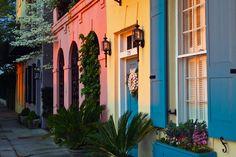 Rainbow Row-Charleston