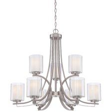 Chittening 9-Light Candle-Style Chandelier