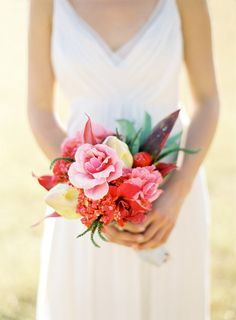 Wedding Bouquets Inspiration : Pretty pink and red bouquet: www. Wedding Blog, Wedding Styles, Destination Wedding, Wedding Photos, Dream Wedding, Wedding Ideas, Wedding Trends, Small Bridal Bouquets, Small Bouquet