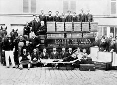 Factory Workers of Louis Vuitton