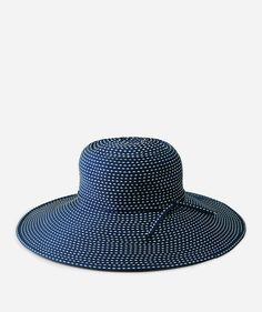 c4a9e4c622c28 Women s Ribbon Braid Hat with Ticking (RBL205)