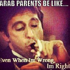 Arab parents