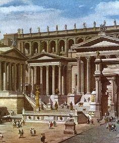 1.  Titus is born in aristocratic Antioch where his father is supreme judge and flemen of Apollo.