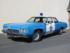 1972 Chevrolet Bel Air Chicago Police Car. ★。☆。JpM ENTERTAINMENT ☆。★。