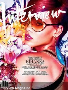 Rihanna na capa da Interview