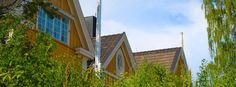 En solskinsdag på Eidsvoll Verk — Eidsvoll Verk — Medium