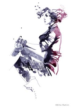Modeconnect.com - Fashion Illustration by Ellie Rahim
