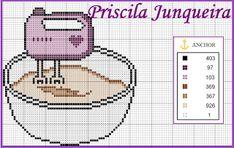 Priscila Junqueira punto croce