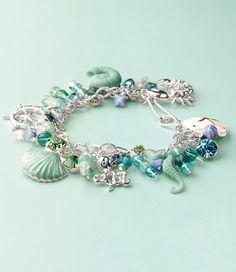 Tuesday Tutorial: Martha Stewart Nautical Bracelet - created with Martha Stewart jewelry crafts