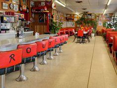 Route 66 Cafe at the Travelodge Santa Rosa in Santa Rosa, New Mexico