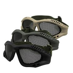 CS field protective Outdoor predator paintball mask equipment Network Rail protective mask Tactical glasses scary airsoft B10